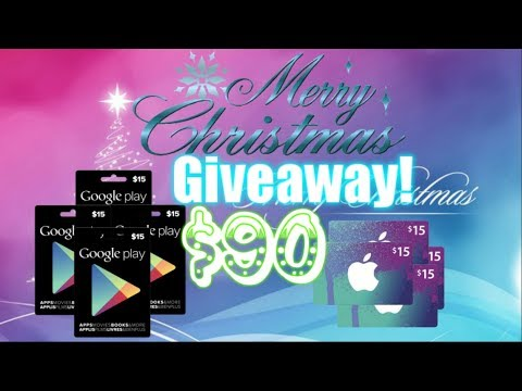 Christmas Giveaway! $90 GPC Or ITunes Cards! Castle Clash