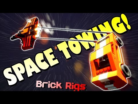 TEAM TOWING COMPANY IN SPACE?! - Brick Rigs Multiplayer Gameplay Ep11