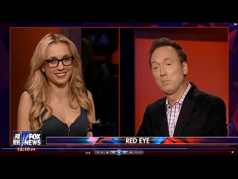 06-22-16 Kat Timpf on Red Eye - Exclamation Points in Trump