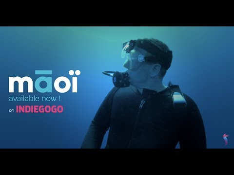 Māoï by Thalatoo : The first smart dive computer with head-up display (VOST)