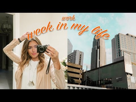 FIRST WEEK OF WORK: WEEK IN MY LIFE