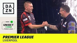 Packendes Darts-Feuerwerk in Liverpool! MVG fordert Price: Premier League of Darts | DAZN Highlights