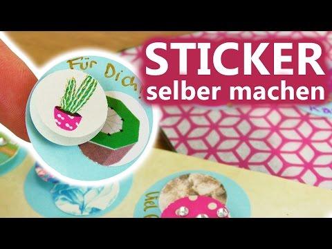 DIY Inspiration Challenge #107 | Sticker selber machen 3D | Kathis Challenge | DIY Sonntag Challenge