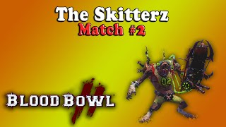 Blood Bowl 2 - The Skitterz Match #2 [Skaven vs Dark Elf]