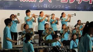 [4K] 船橋東高校 吹奏楽部 - J-BEST~日本を勇気づける名曲たち~
