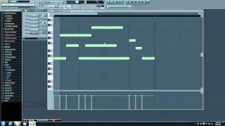 FL Studio Tutorial - 9 - Piano Roll