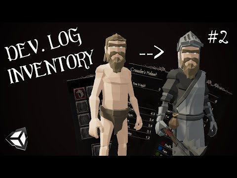 I Created An INVENTORY & EQUIPMENT System In Unity! (#02)