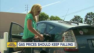 Gas prices should keep falling