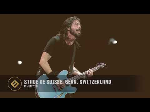 Foo Fighters - Stade de Suisse, Bern, Switzerland (13/06/2018)