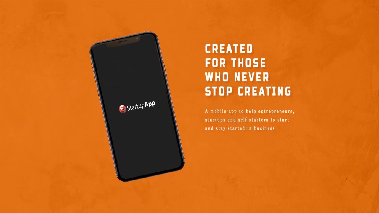 StartupApp - Africa's One-stop Shop for Startups, Entrepreneurs and self-starters Promo