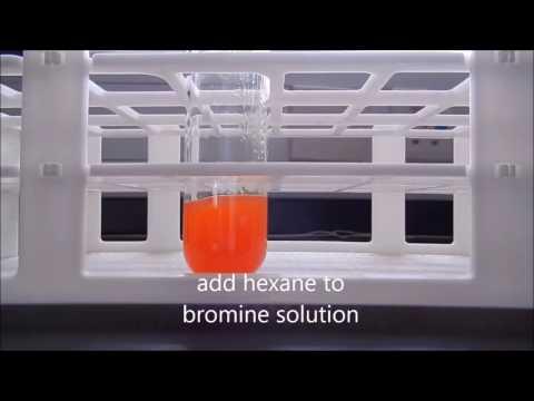 Reaction Between Bromine And Hexane