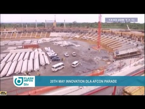 STV - THE 01:00 PM FLASH INFO - (20th MAY INNOVATION : DOUALA AFCON PARADE) - Monday 21st May 2018