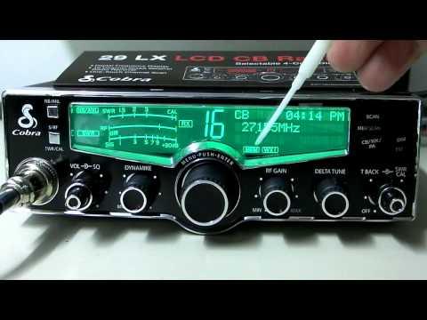 New Cobra 29 LX CB Radio - Digital Display 40 Channel AM