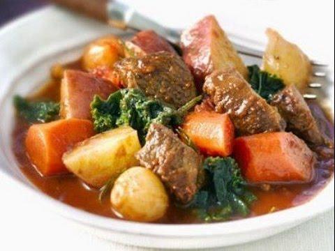 Рагу овощное с мясом - рецепты