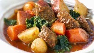 Домашние видео-рецепты - баранина с картофелем в мультиварке