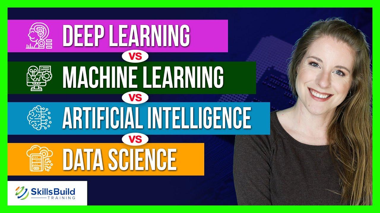 Deep Learning vs Machine Learning vs Artificial Intelligence vs Data Science