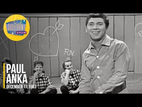 "Paul Anka ""Down By The Riverside"" on The Ed Sullivan Show"