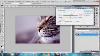 ВидеоУрок по фш как зделать цветной баланс и стиль (Hardys0)