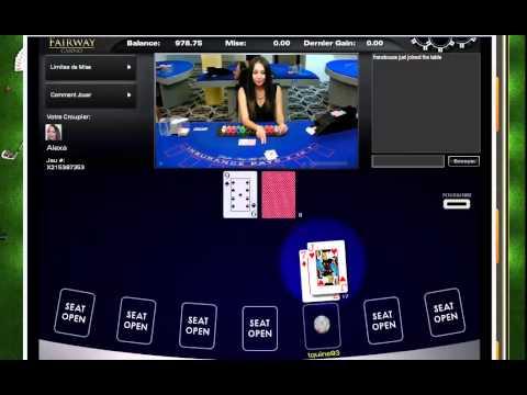 Blackjack avec croupiers en direct / Fairway casino
