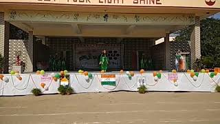 Grand finale of Republic Day program - Holy Cross School, Najafgarh