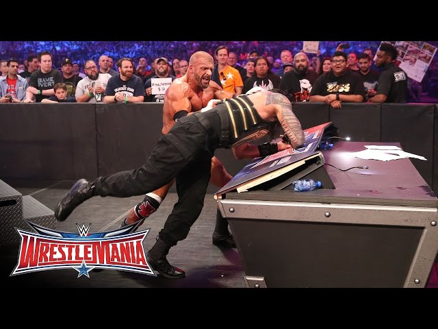 Wwe wrestlemania 2013 triple H vs brock lesnar mp4 download