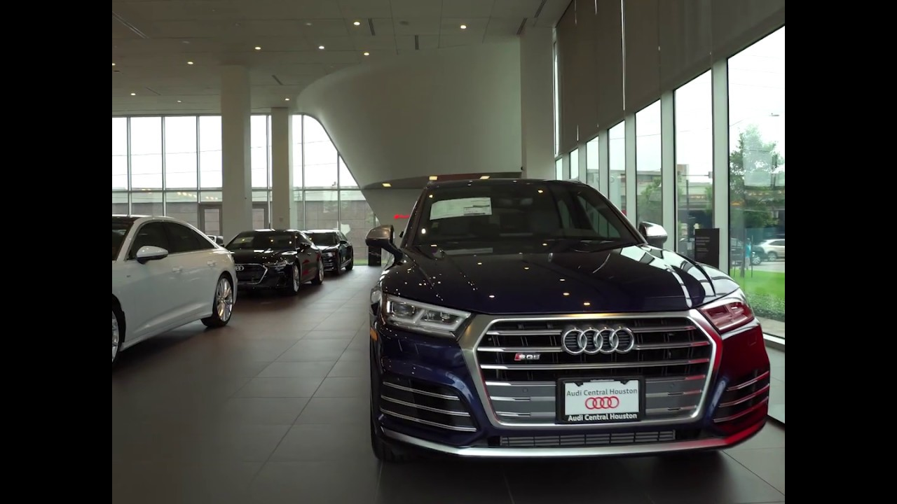 Audi Central Houston >> Audi Central Houston Showroom