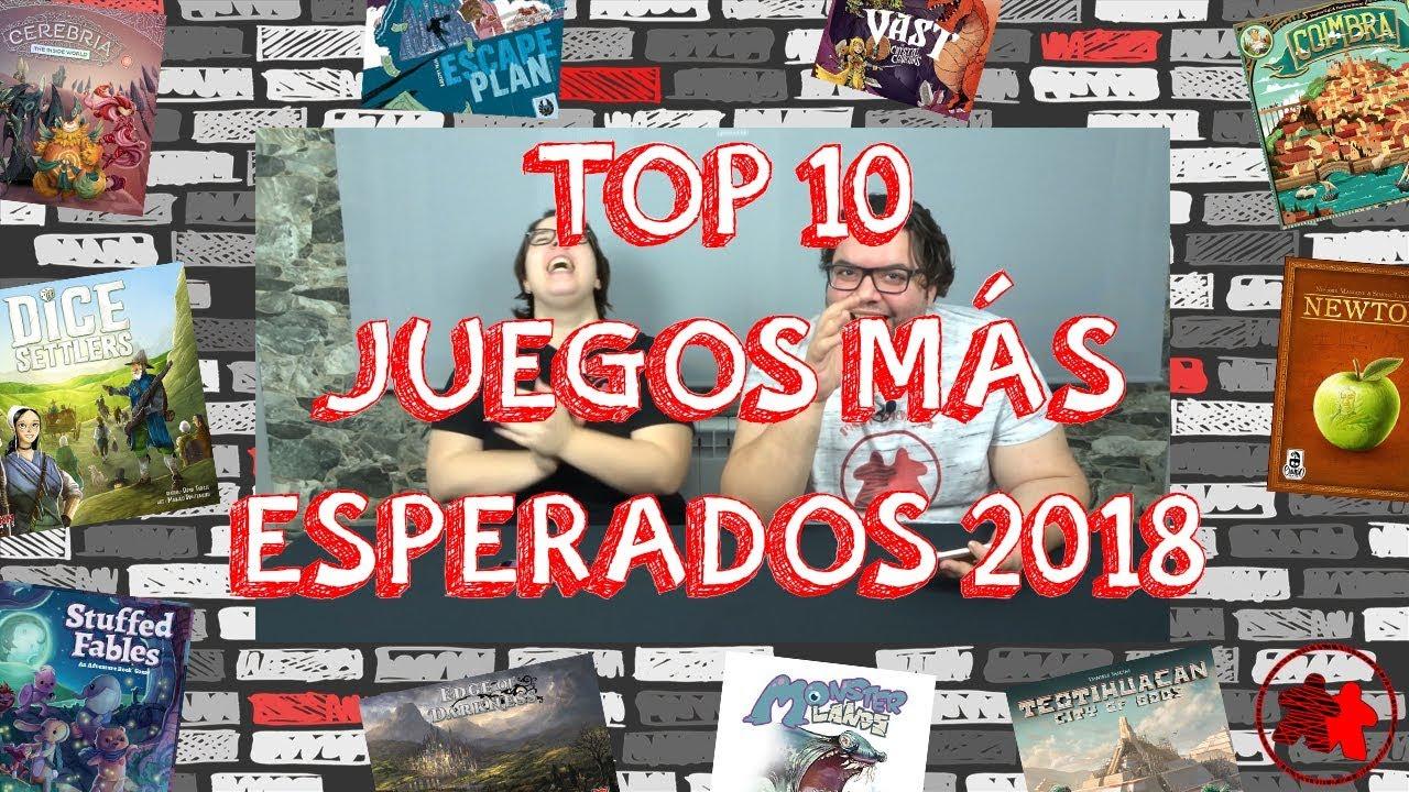 Top 10 Juegos De Mesa Mas Esperados De 2018 Youtube