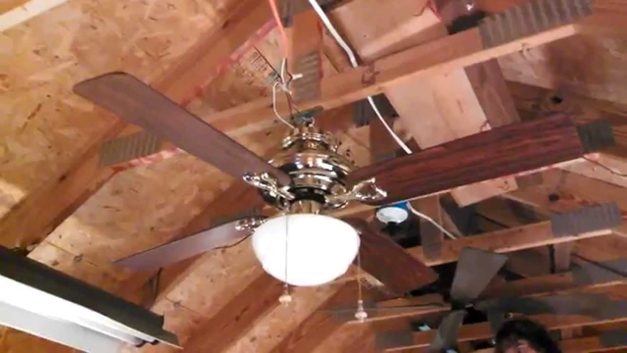 Hunter calais ceiling fan sold at walmart youtube hunter calais ceiling fan sold at walmart aloadofball Images