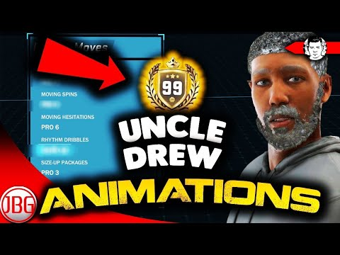 OMG!! INSTANT DEMIGOD UNCLE DREW ANIMATIONS ON NBA 2K18!
