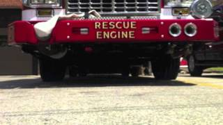 Morningside Volunteer Fire Department Rescue Engine 27 Delivery Video