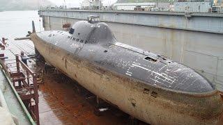 Необычные  подводные лодки СССР