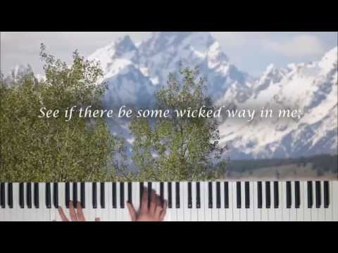 Cleanse Me - Search Me, O God (Piano with Lyrics)
