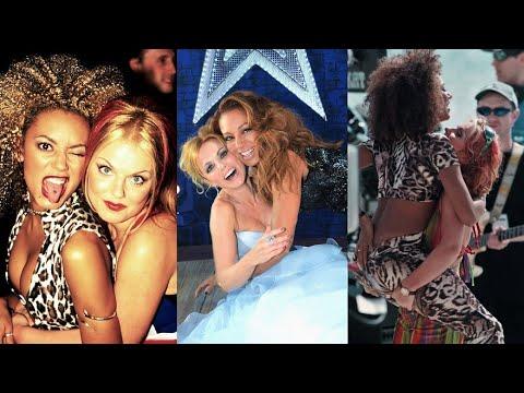 Mel B & Geri - Through the years