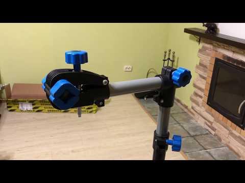 Unboxing:  ремонтный велосипедный стенд (стойка) с AliExpress + сборка