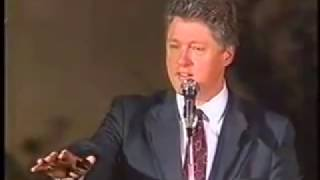 Clinton's Angry Response to Heckler