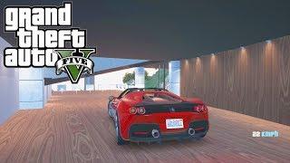GTA 5 - Mon nouveau super garage + Ferrari FJ 50
