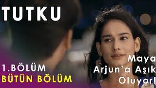 Tutku 1. Bölüm (Tüm Bölüm!) - Maya Arjun'a Aşık Oluyor! #Tutku #Beyhadh #बेहद
