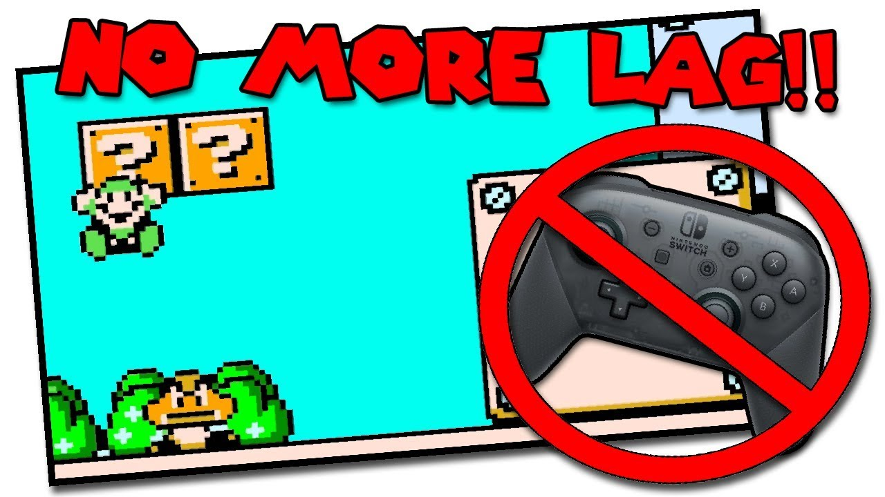 Fix Controller Input Lag - Switch NES Online