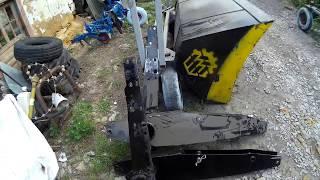 Фронтальный погрузчик GENERAL 1200 к трактору МТЗ 82