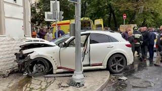 В Москве вынесен приговор по делу об аварии, которая случилась полгода назад в центре Москвы.