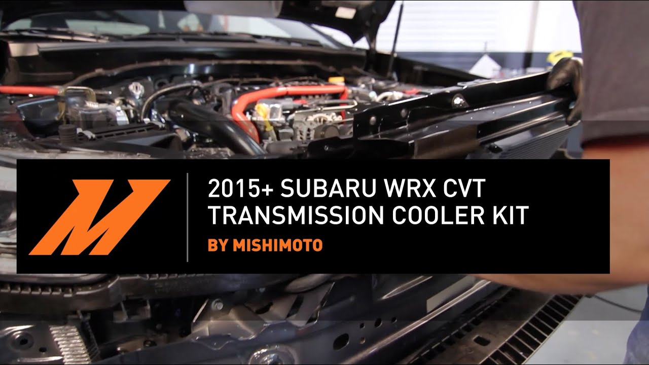 2015+ Subaru WRX CVT Transmission Cooler Installation Guide By Mishimoto