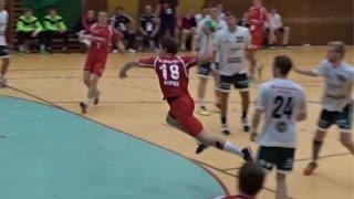MT Melsungen 2 vs. ESG Gensungen/Felsberg Auswärtsspiel (Handball Oberliga 2015/2016)