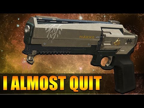 I Literally Almost Quit Destiny 2 While Reviewing This Gun.