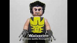 Lego Custom MARVEL Minifigs