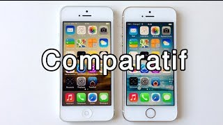 Comparatif : Apple iPhone 5s vs iPhone 5 - Photo & Video, Vitesse, Design et rapidité