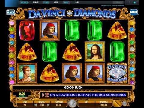 Video automaty Da Vinci Diamonds