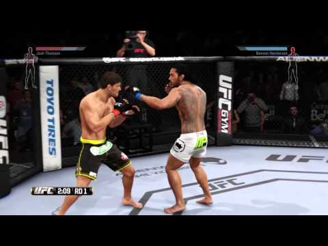 UFC on FOX - Ben Henderson vs [Josh Thomson Revenge Rematch] - EA Sports UFC 2014 - Pro difficulty