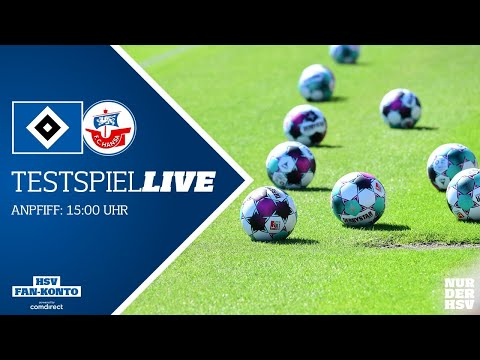 RE-LIVE: Testspiel I Hamburger SV Vs. FC Hansa Rostock