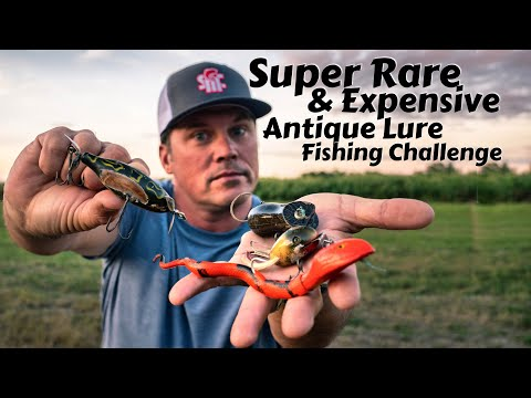 Do They Still Work? Fishing With Weird And Expensive Rare Antique Lures