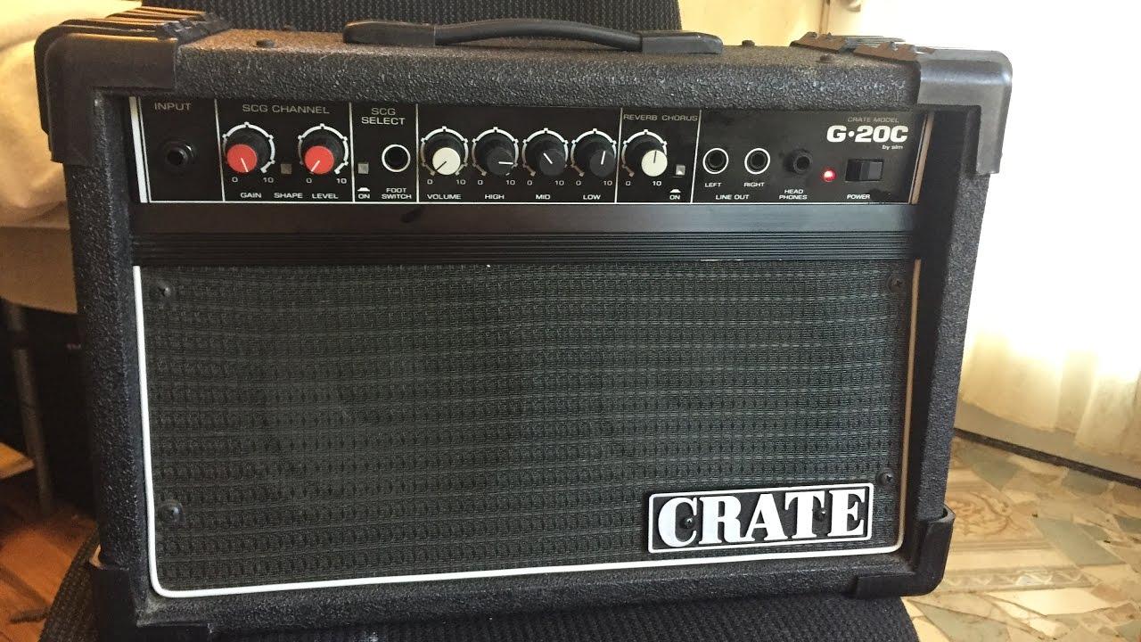 Crate G 20c Guitar Amp Review